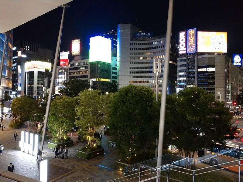 Xperia Aceで撮影した東京駅周辺