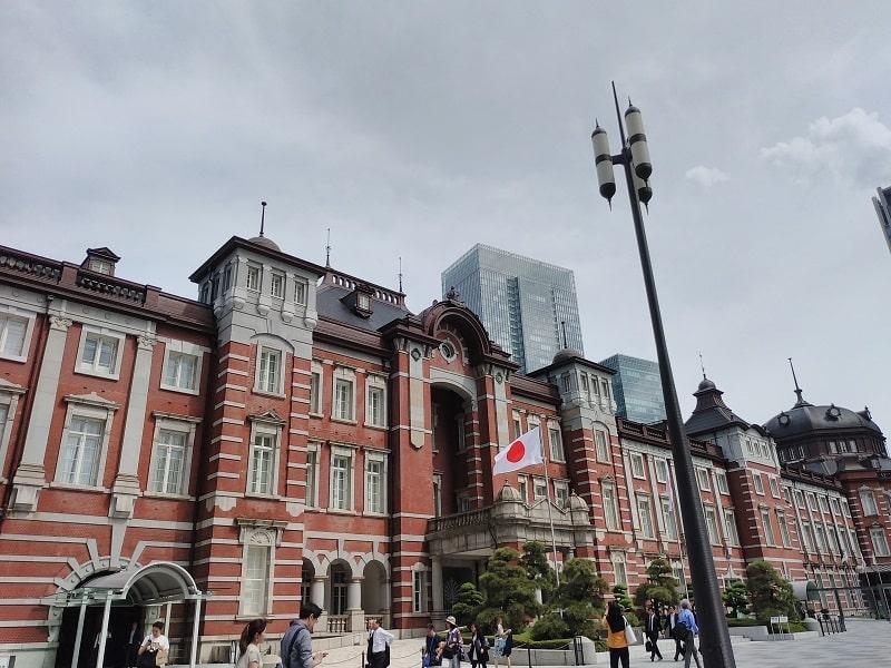 arrows Be3 F-02Lで撮影した東京駅