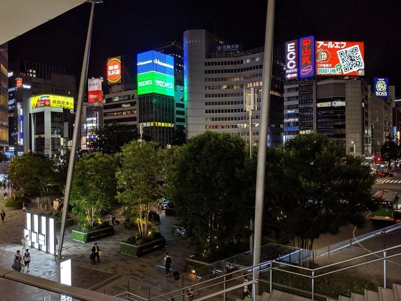 Google Pixel 3aで撮影した夜景