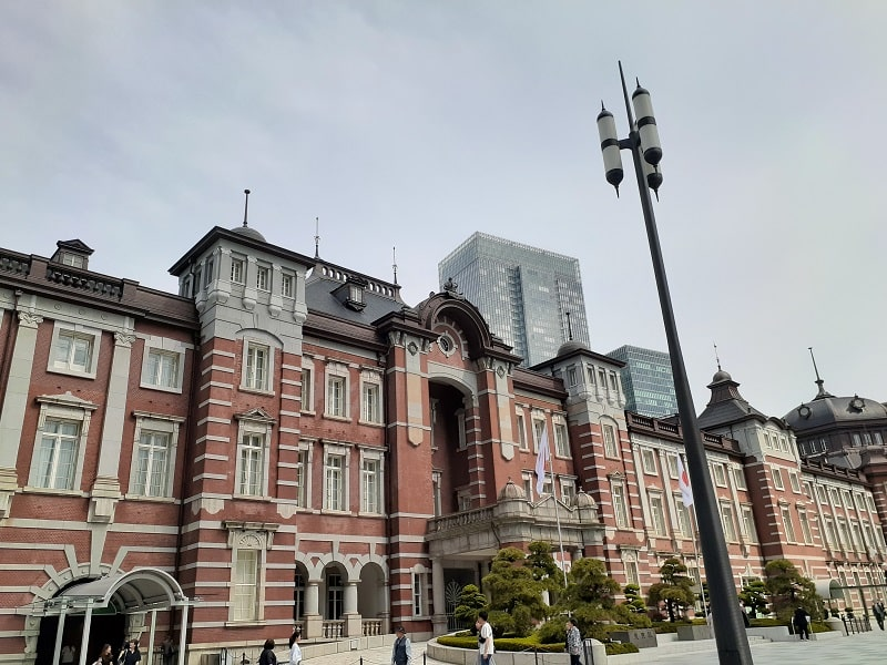 Galaxy A30で撮影した東京駅