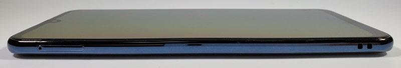Galaxy A30 の左側面デザイン