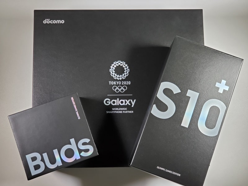 Galaxy S10+ Olympic Games Edition レビュー!Galaxy S10+との違いはどこ?