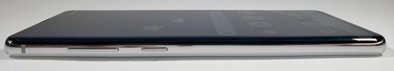 Galaxy S10+ Olympic Games Edition の左側面デサイン
