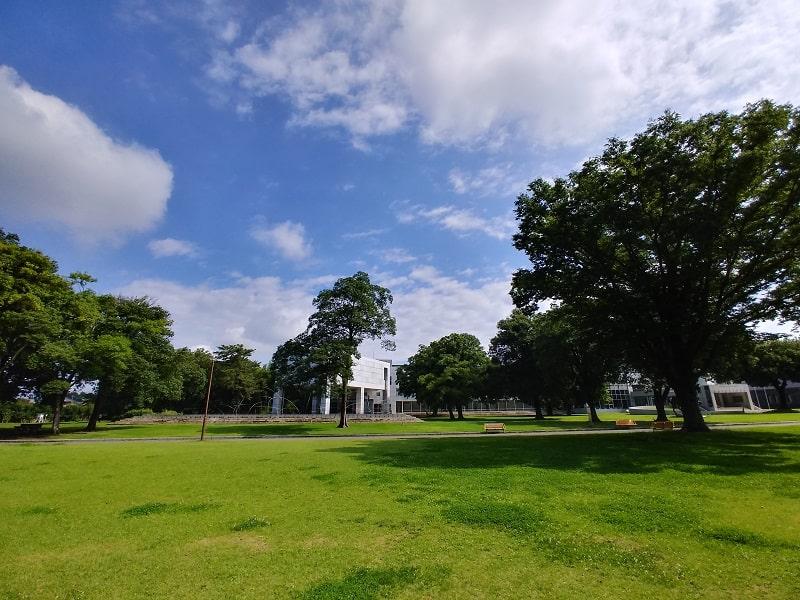 LG style2で撮影した昼間の公園