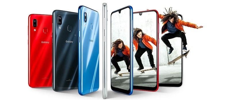 Galaxy A30 のカラーバリエーション