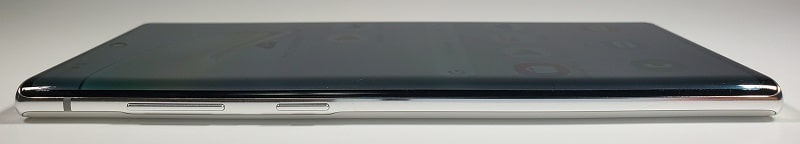 Galaxy Note10 のデザインとボタン配置