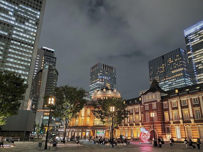 Galaxy Note10+で撮影した東京駅
