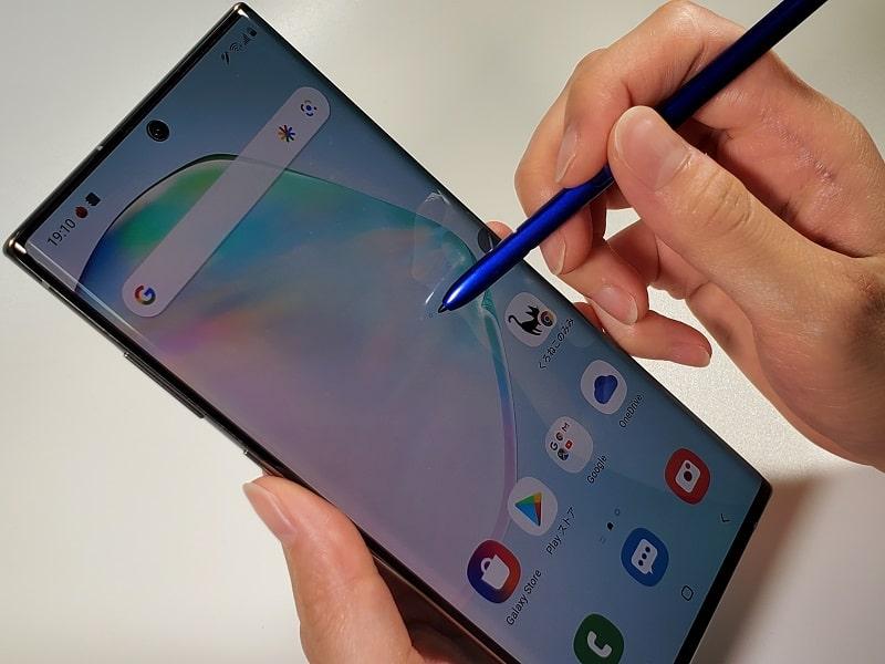 Galaxy Note10+ 購入レビュー!スペックや評価・カメラ性能まとめ