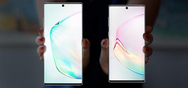 Galaxy Note10 のカラーバリエーション