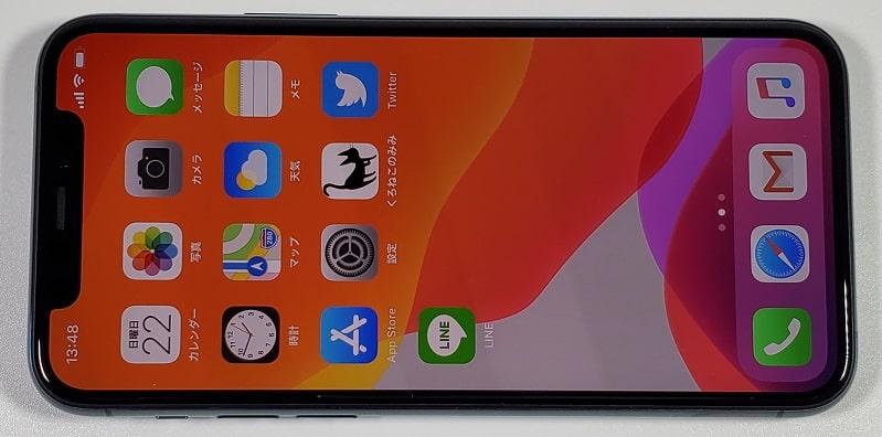 iPhone 11 Pro のディスプレイ