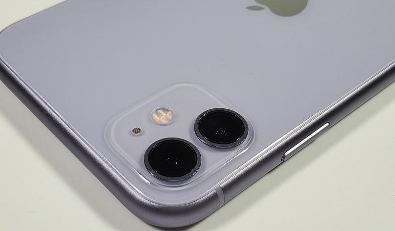 iPhone 11 のカメラ