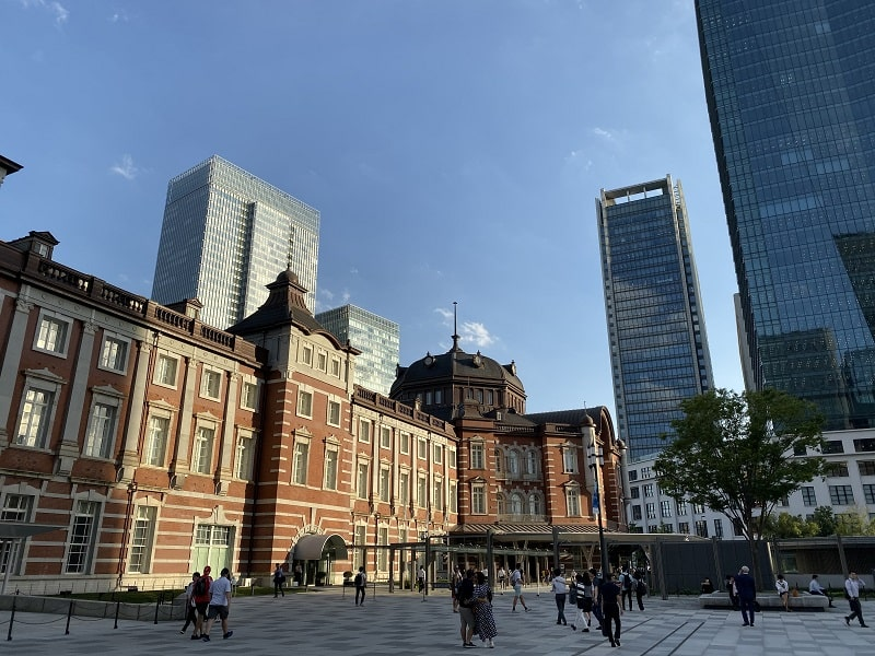 iPhone 11 Proのカメラで撮影した東京駅