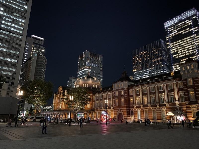 iPhone 11 のカメラで撮影した東京駅