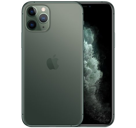 iPhone 11 Pro のカラーミッドナイトグリーン