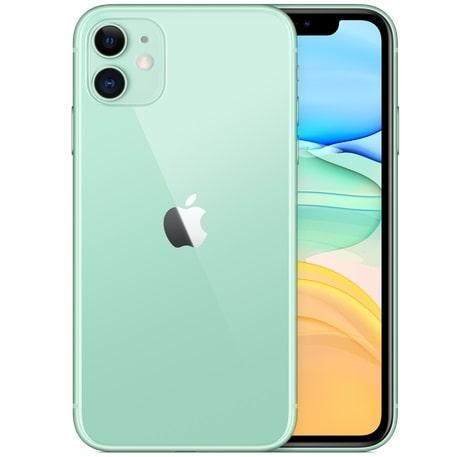 iPhone 11 のカラーグリーン