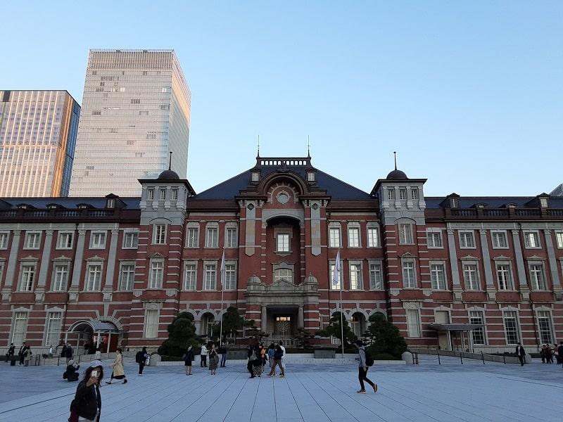 Galaxy A20のカメラで撮影した東京駅
