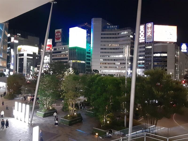 Galaxy A20のカメラで撮影した夜景