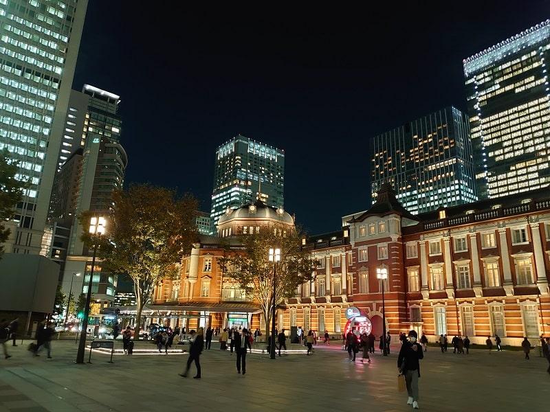 Xperia 5で撮影した東京駅