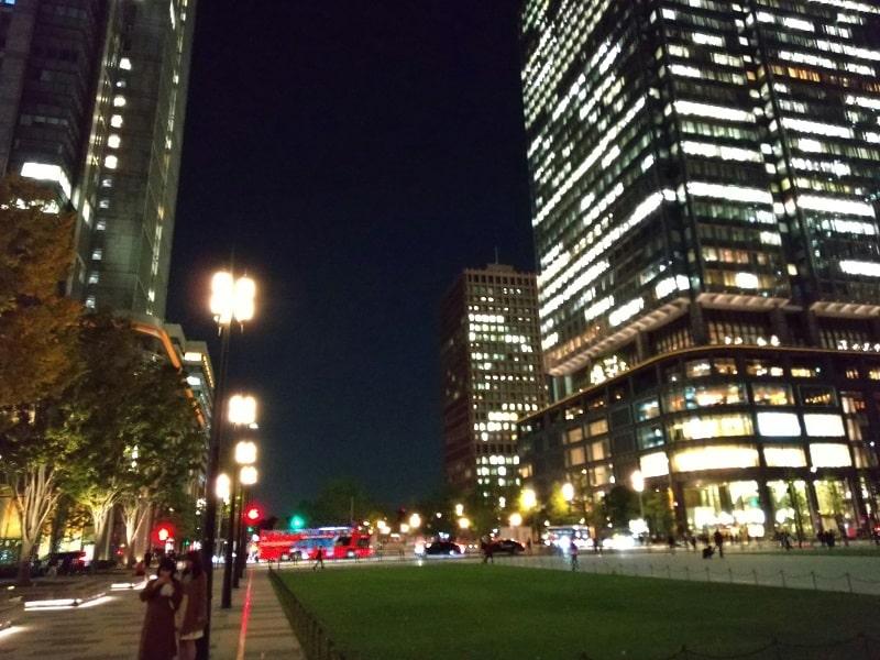 AQUOS sense3のカメラで撮影した東京駅