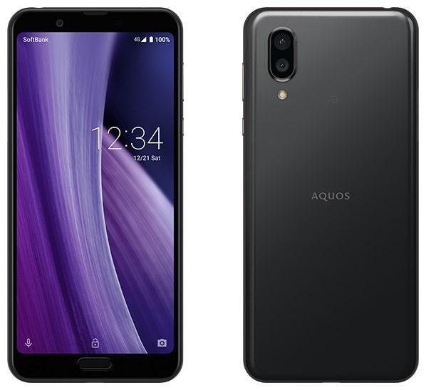 AQUOS sense3 plus のカラーブラック