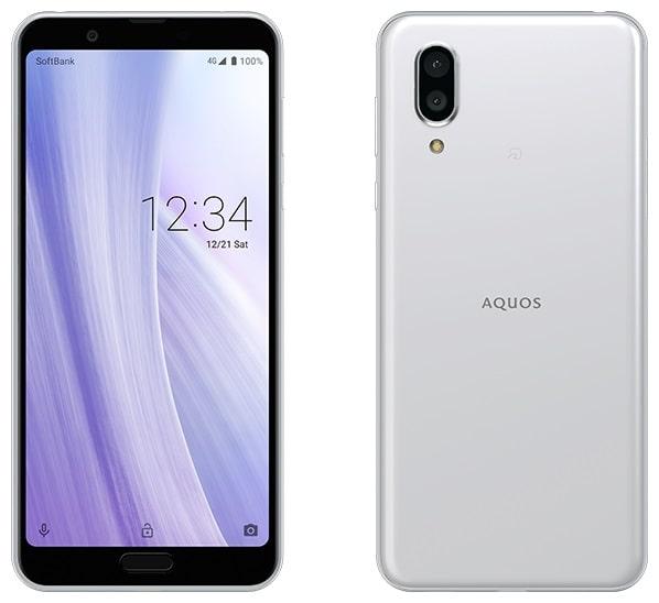 AQUOS sense3 plus のカラーホワイト
