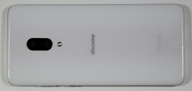 AQUOS zero2 の背面デザイン