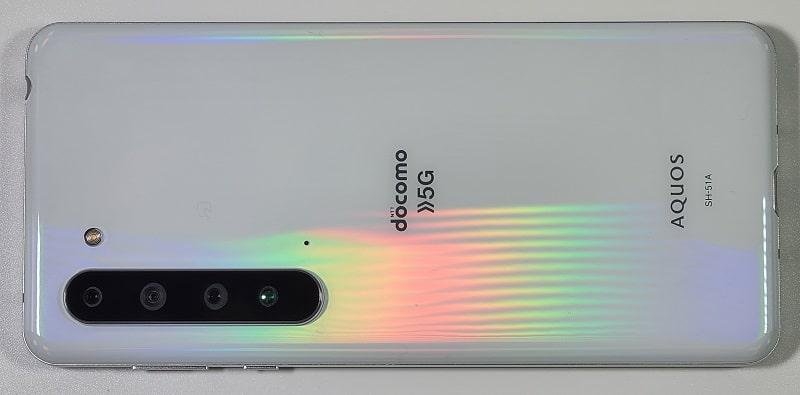 AQUOS R5G の背面デザイン