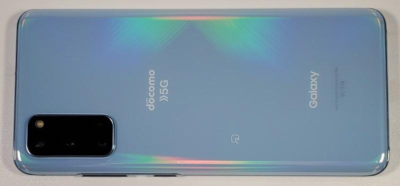 Galaxy S20 の背面デザイン