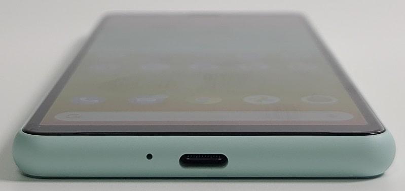 Xperia 10 II の下部デザイン