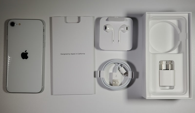iPhone SE(第2世代)の付属品