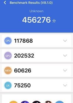 iPhone SE(第2世代)のAntutuベンチマークスコア