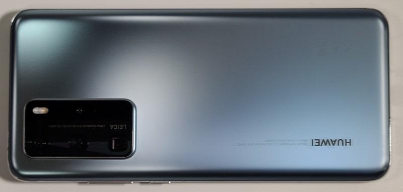 HUAWEI P40 Proの背面デザイン