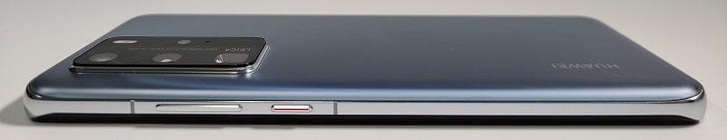 HUAWEI P40 Proの側面デザイン
