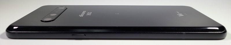 LG V60 ThinQ 5G の側面デザイン