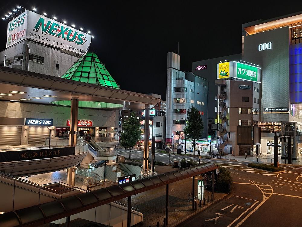 Galaxy Note20 Ultraのカメラで撮影した夜景