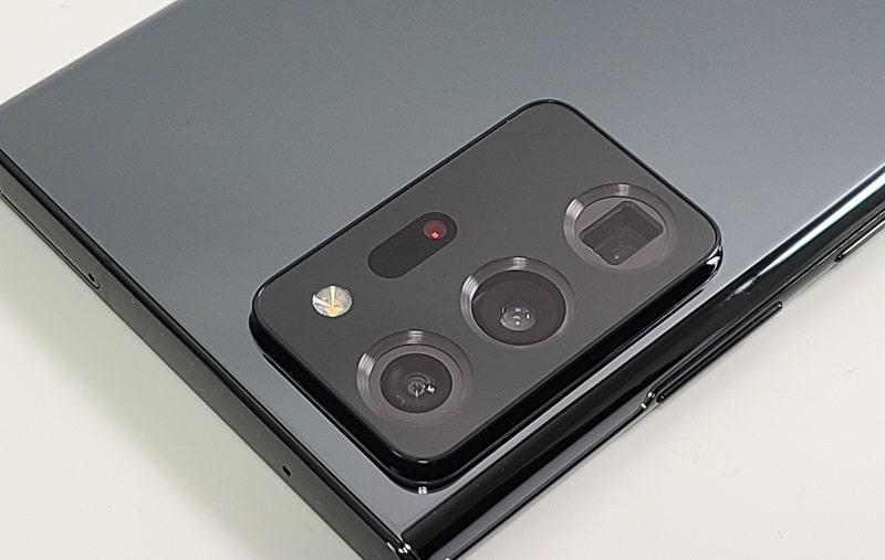 Galaxy Note20 Ultraのカメラの様子