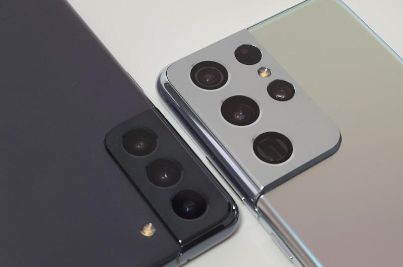 Galaxy S21のアウトカメラ