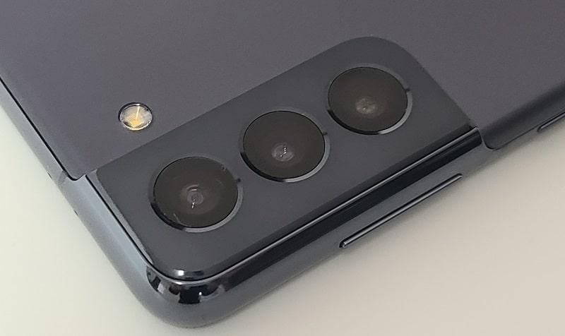 Galaxy S21のカメラ部分