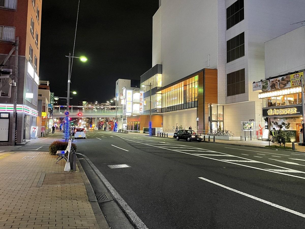 iPhone 12のカメラで撮った夜景