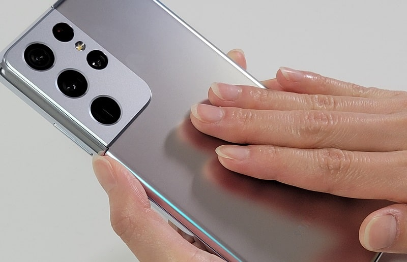 Galaxy S21 Ultraの背面デザイン
