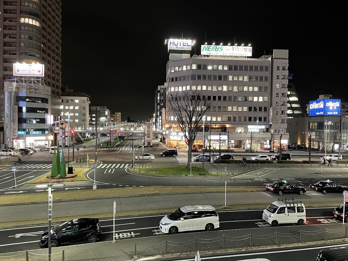 iPhone 12 Pro のカメラで撮影した夜景