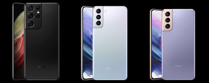 Galaxy S21 Ultra のカラーバリエーション