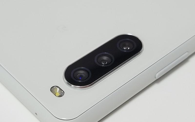 Xperia 10 IIIのカメラ部分