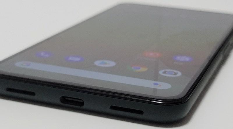 Google Pixel 5a のスピーカー