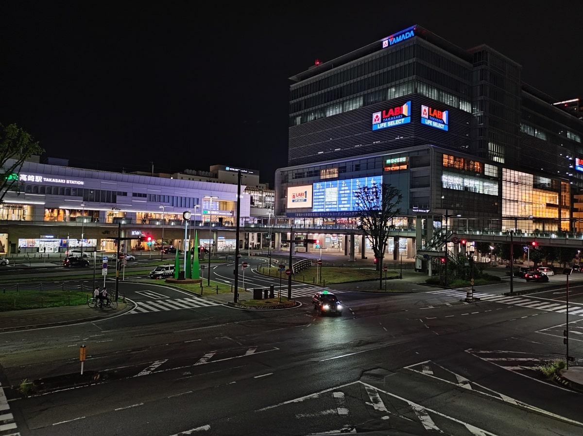 Mi 11 Lite 5Gで撮影した夜景