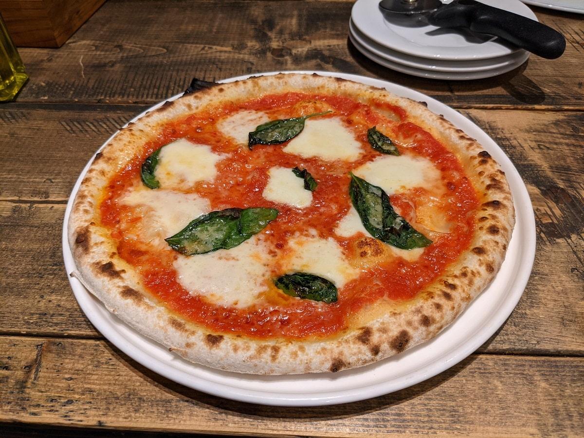 Google Pixel 5aで撮影したピザ