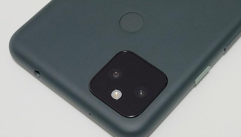Google Pixel 5a のカメラ